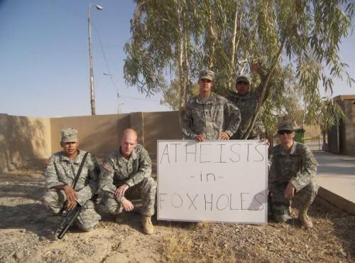 atheistsinfoxholes