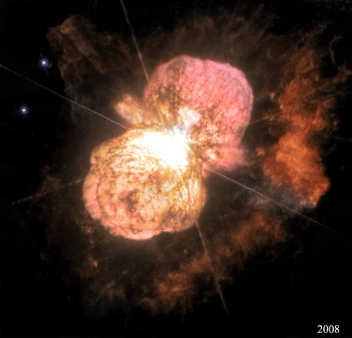 Eta Carinae and the Expanding Homunculus Nebula (2014 Dec 02)