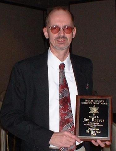 Dispatcher of the Year Tulare County Sheriff's Office 2005