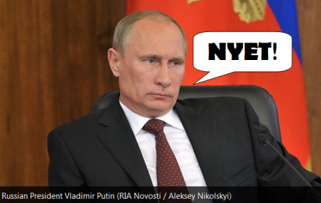 Putin-NYET